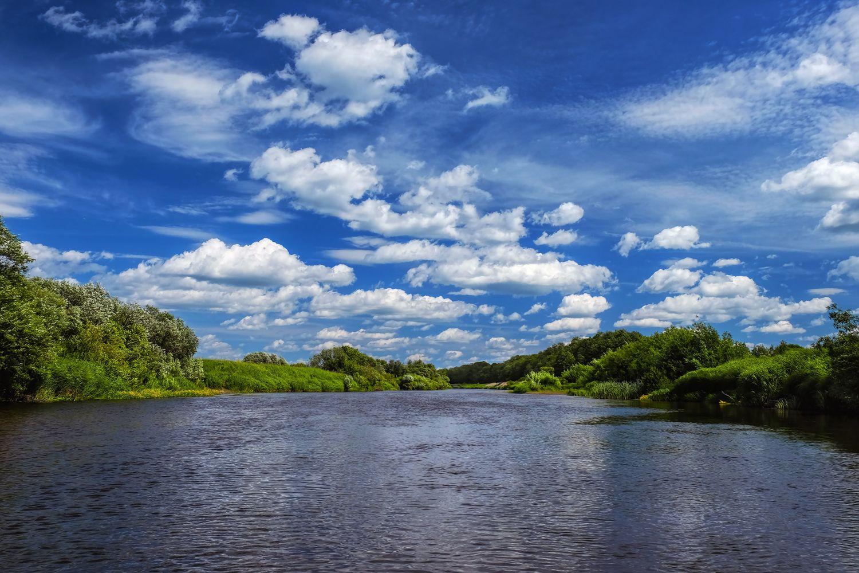 как сделать фото реки просто