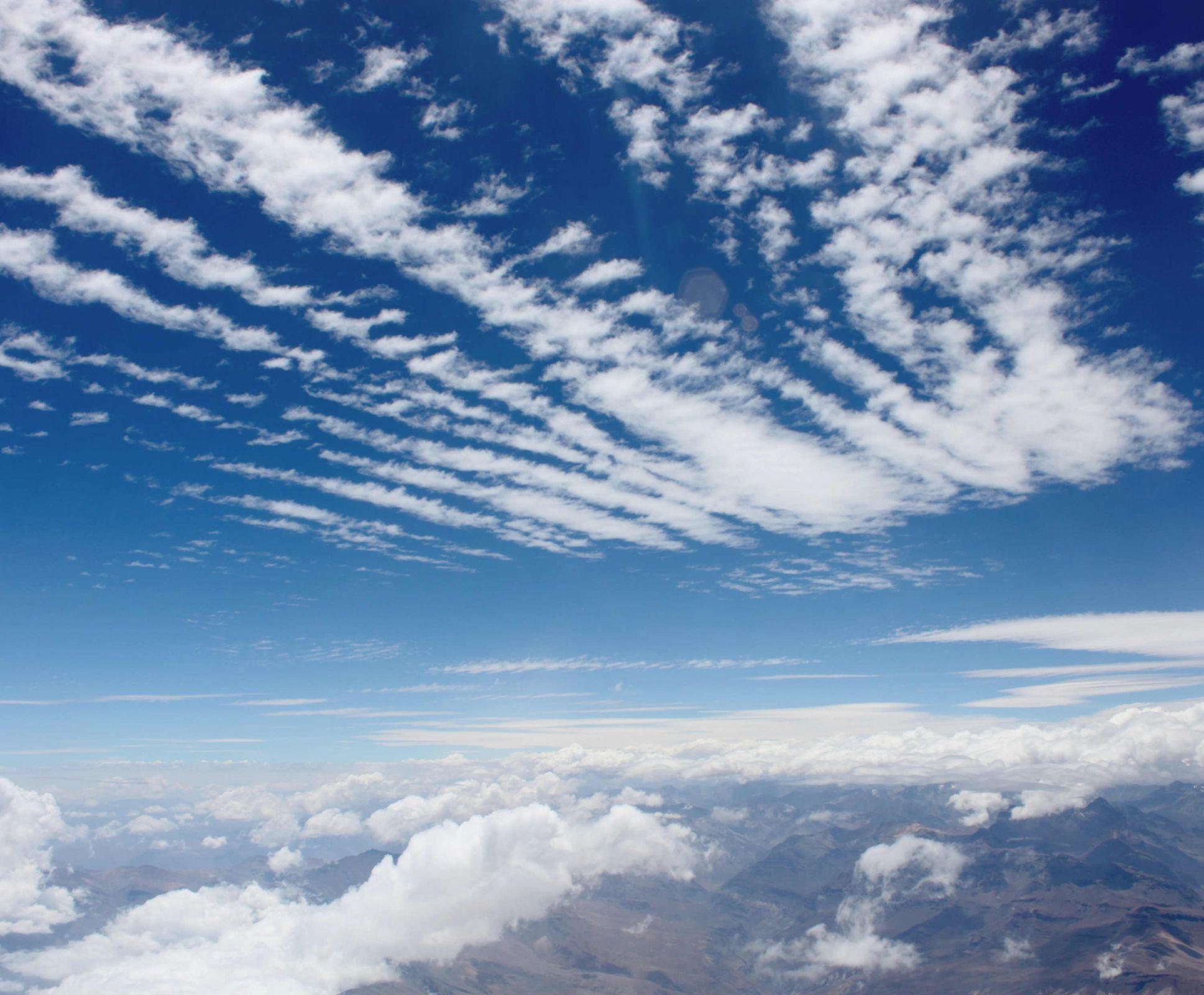 Картинки всех видов облаков